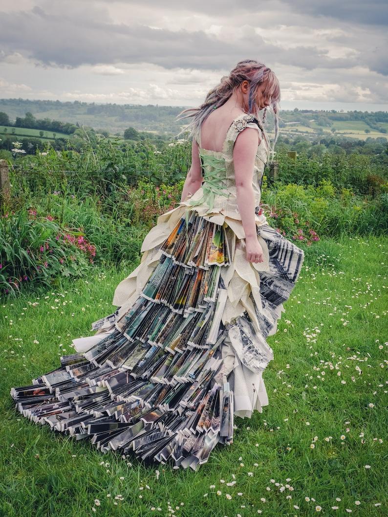 SALE Fairytale book dress Alternative wedding dress or photo image 0