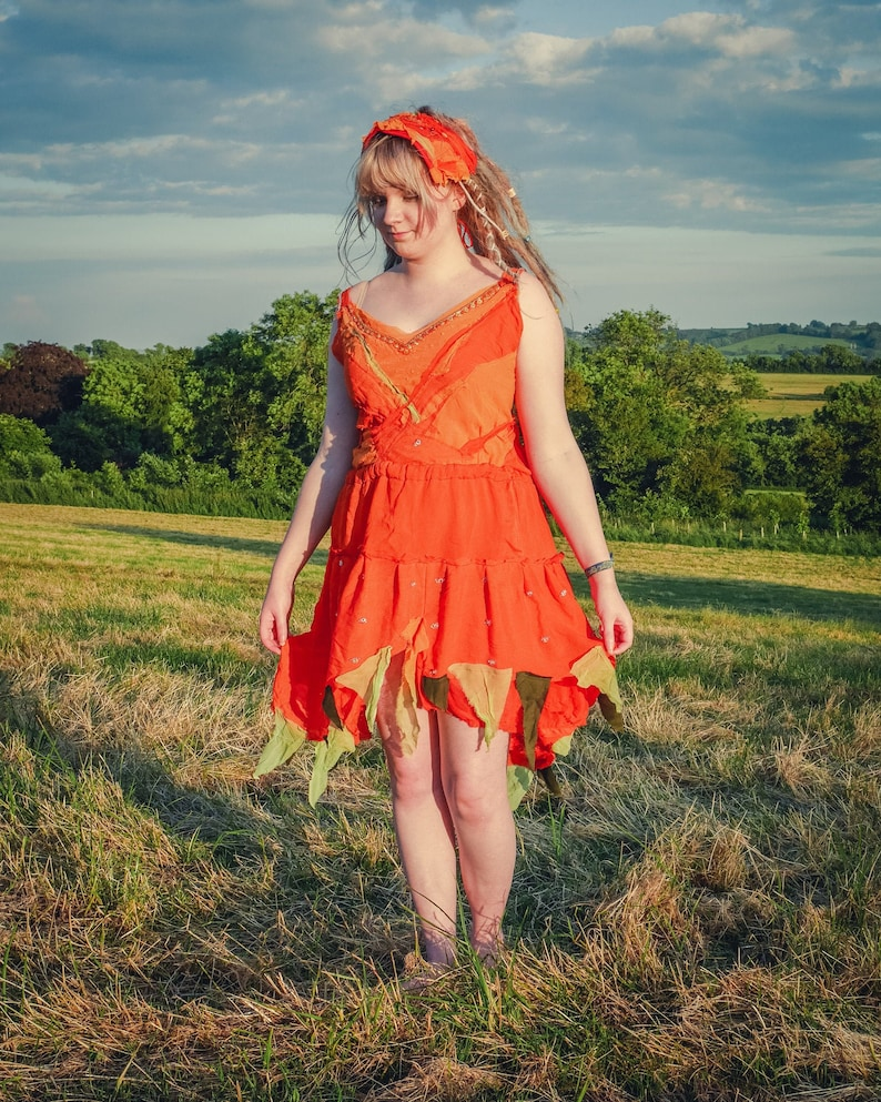 Festival fairy dress Made to order in your choice of colours. image 0