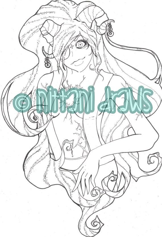 Printable Coloring Adulto Digitale Page Cupido Eros Etsy