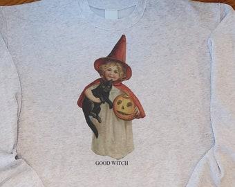 Good witch sweatshirt , Vintage Halloween sweatshirt, Mommy and me sweatshirts