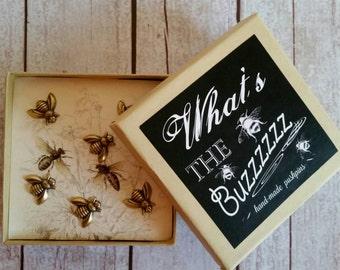 Bee pushpins, Bumblebee Push Pins, Bee push pins,Bumblebee pushpins