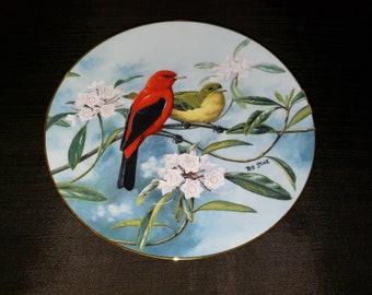 2ab324de Bird collector plate | Etsy