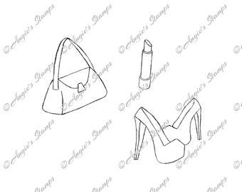 Women's Accessories Digital Stamp Set