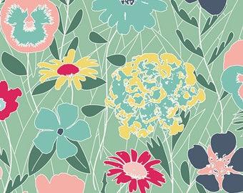 Curiosities - SPLENDIFEROUS CHILL -  by Jeni Baker for Art Gallery Fabrics - 1 yard - Choose your cut