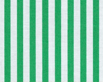 Jennifer Paganelli for Free Spirit - Beauty Queen - Katie Stripe in Green - Cotton Fabric