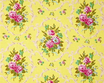 Jennifer Paganelli for Free Spirit - GOOD COMPANY - Melody in Azule Yellow - Cotton Fabric