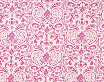 Dena Designs - KUMARI GARDEN - Marala in Pink - 1 Yard - Cotton Fabric