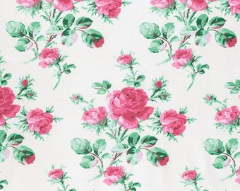 Verna Mosquera for Free Spirit - PEPPERMINT ROSE -  Peppermint Rose  - Dove - Cotton Fabric - PWVM174