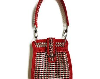 Crochet Pattern - INSTANT DOWNLOAD PDF Pattern Rita - Build Your Own Pop Tab Cross Body Bag, Handbag or Shoulder Purse Tutorial