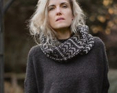 KNITTING PATTERN-Alps Cowl (adult & child sizes)