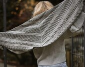 CROCHET PATTERN-The Botanical Wrap (one size)