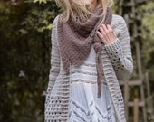 Crochet PATTERN-The Rain Haven Cardigan (2/3, 4/5, 6/7, 8/9, 10/12, 14/16, S, M, L, X-L, XX-L, XX-L/L3X-L and 3X-L/4X-L)