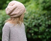 KNITTING PATTERN-The Flitter Slouchy (x-small, small, medium and large sizes)