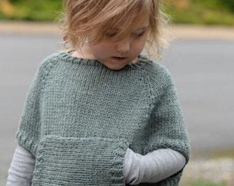 ae8a9f9ba Knitting Pattern - Odila Cape Pullover (2 3