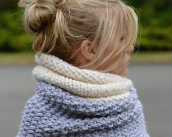 KNITTING PATTERN-The Windyn Cowl (Toddler, Child, Adult sizes)