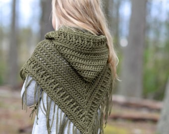 CROCHET PATTERN-The Brocade Shawl (toddler, child and adult sizes)