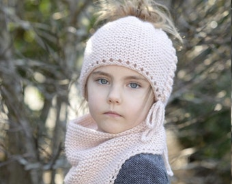 KNITTING PATTERN-The Madelaine Set (2/5, 6/10, teen, adult s/m, adult large sizes)