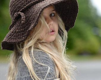 7ef18444946 CROCHET PATTERN-The Wanderlust Brim Hat (Toddler