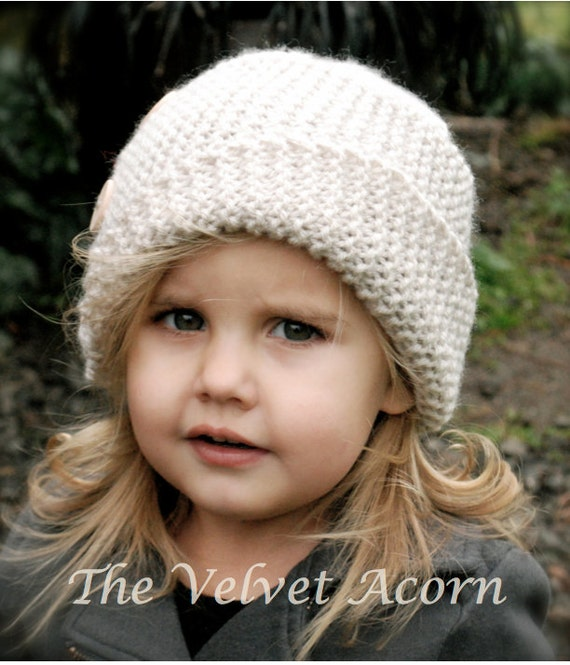 Knitting Pattern The Piper Cloche Toddler Child Adult Etsy