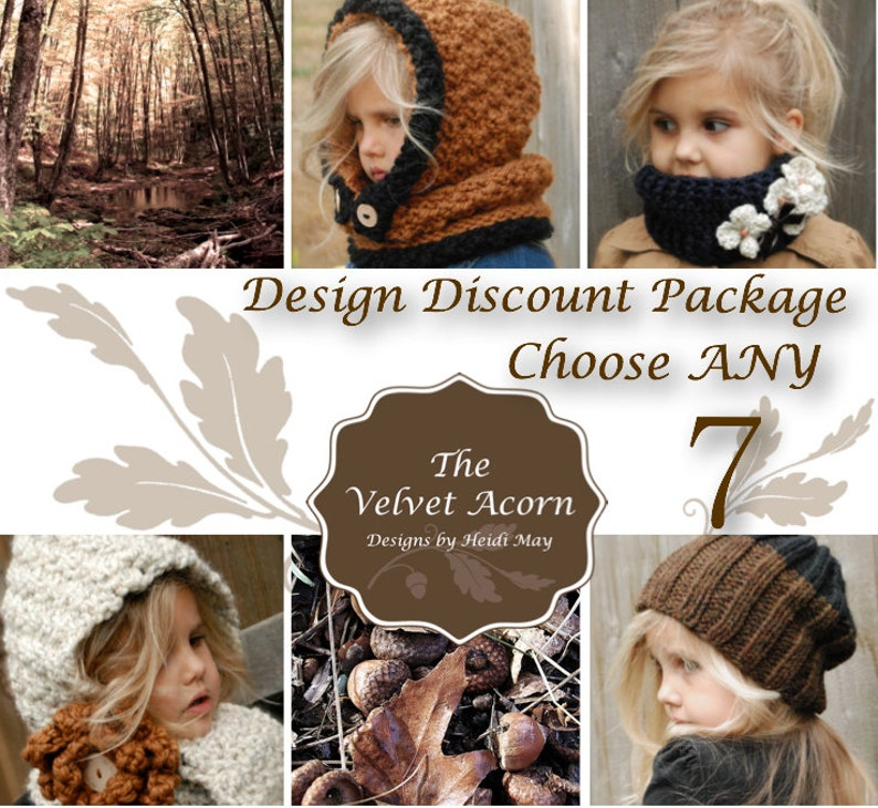 Design Discount Pattern Package CHOOSE ANY 7 photo