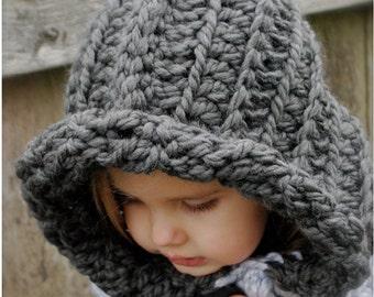 Crochet PATTERN-The Rozlinn Cowl (Toddler, Child, Adult sizes)