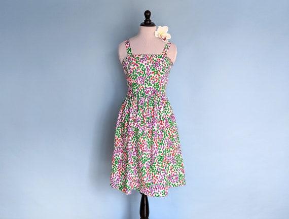 Vintage 1980s Lanz Originals Floral Cotton Sundres