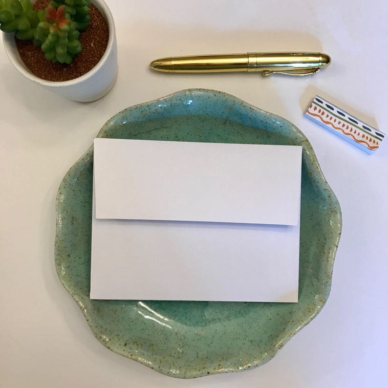 Personalized Teacher Stationary Set with Envelopes From the Desk of Custom Teacher Appreciation Gift