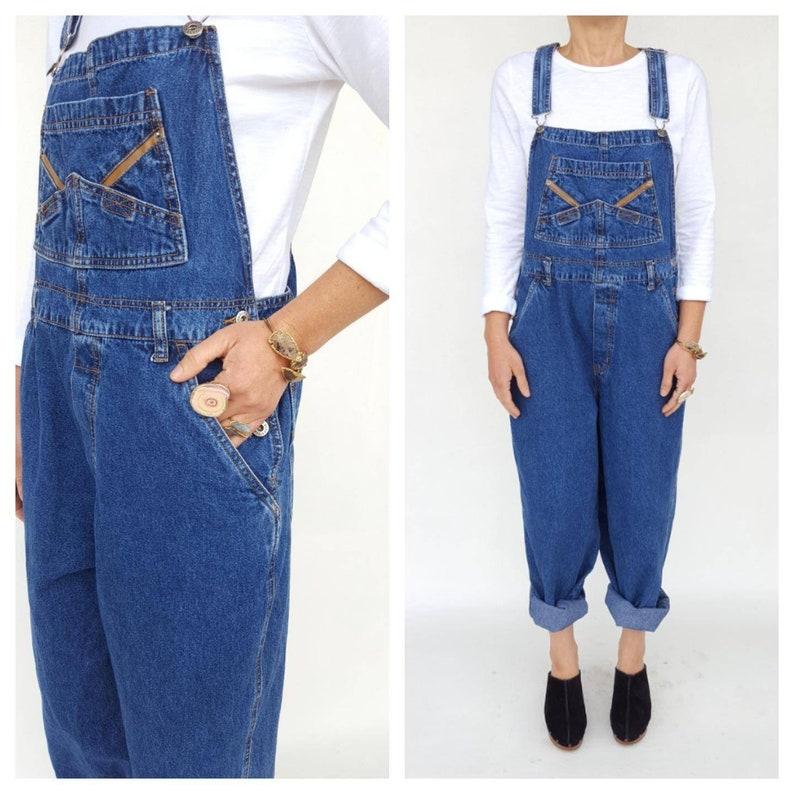 2ae04f3c6ca Vintage Overalls   80s Jumpsuit   Vintage Denim Jumpsuit