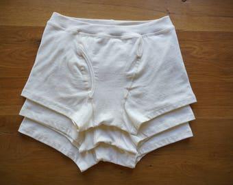 3x Organic Cotton & Hemp Boxer Briefs Men's Underwear