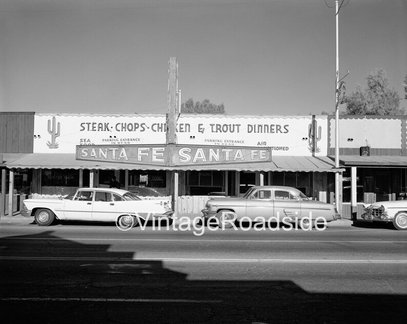 Santa Fe Restaurant Wickenburg Arizona Photo Fine Art Print image 0
