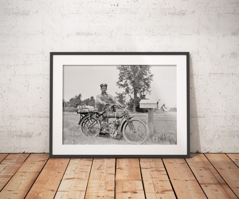 Wagner 4-11 Motorcycle Photo Fine Art Print From Original image 0