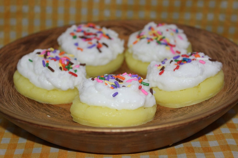 SUGAR COOKIE DOUGH Scented Large Sugar Cookie Wax Tarts Melts Bowl Fillers Decor Highly Scented New