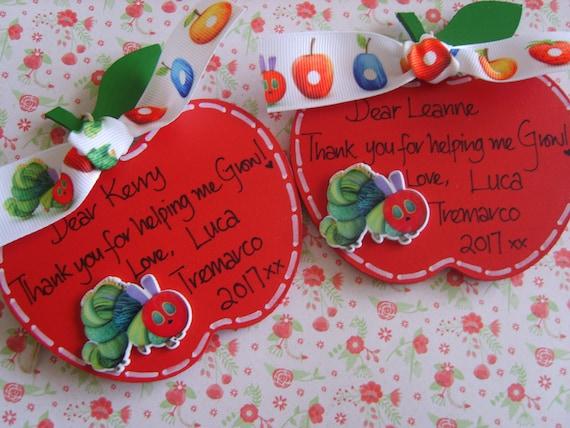 Thank You Teacher étoile de Noël Cadeau Personnalisé Nursery gardienne présents