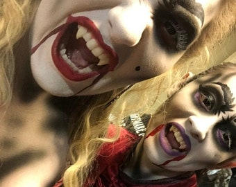 Vampire Teeth (Fangs) for Women, or Teens,  That You Mold to your own Teeth.