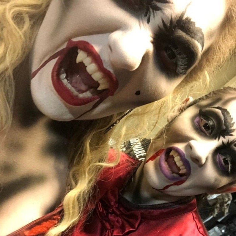 Vampire Teeth Fangs for Women or Teens  That You Mold to image 1