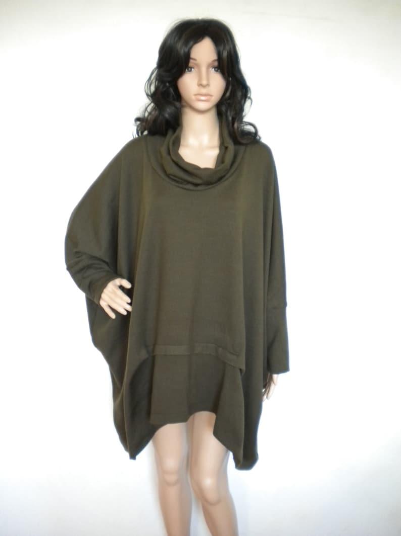 Fall winter plus size warm dress winter warm knit sweater | Etsy