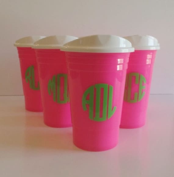 reusable solo cup personalized solo cups with lid etsy