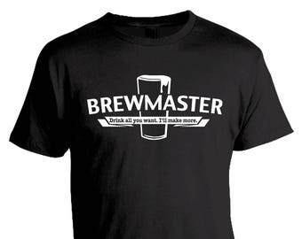 Gift for Dad, Homebrewing Shirt, Beer Making, Beer Geek, Home Brewing Tshirt, Craft Beer Homebrewer Shirt, Brewmaster, Brew Tees, Brewer