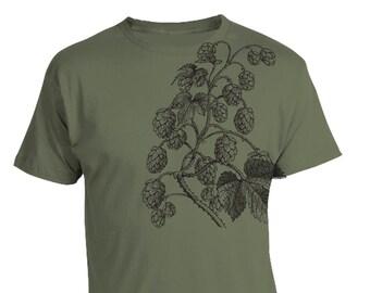 Craft Beer tshirt, HUMULUS LUPULUS Craft Beer Shirt, Hops Shirt, Hoppy IPA Shirt, HomeBrewer Shirt, Beer Shirt, Drink local