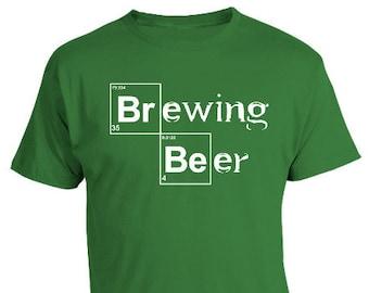 cb713ff6b Home Brewing Beer Shirt, Beer Geek, Homebrewer Shirt, Brew Day, Home  Brewing, Heisenberg Shirt, Brew Tees, Breaking Bad Tee, Christmas
