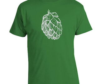 Hops Beer Shirt, Brewer Shirt, Craft Beer Shirt, Homebrewer Shirt, Homebrewer Gift, Beer Christmas Gift, Fathers Day Gift, Birthday Present