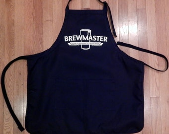 Fathers Day Gift for Beer Brewer, Brewmaster, Brew Day, Homebrewer, Home Brewing, Official Brew Day Apron, Birthday Gift, Gift for Homebrewe