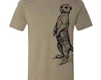 Craft Beer Shirt, Spirit Animal Meerkat Shirt, Craft Beer Tshirt, Craft Beer Snob, Homebrewer, Homebrewing, Cool Beer Festival Shirt