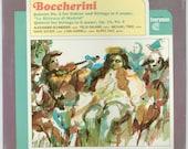 Luigi Boccherini, Quintet No 2 for Guitar Strings, Quintet for Strings, Alexander Schneider, Felix Galimar, Still Sealed Everyman Vinyl LP