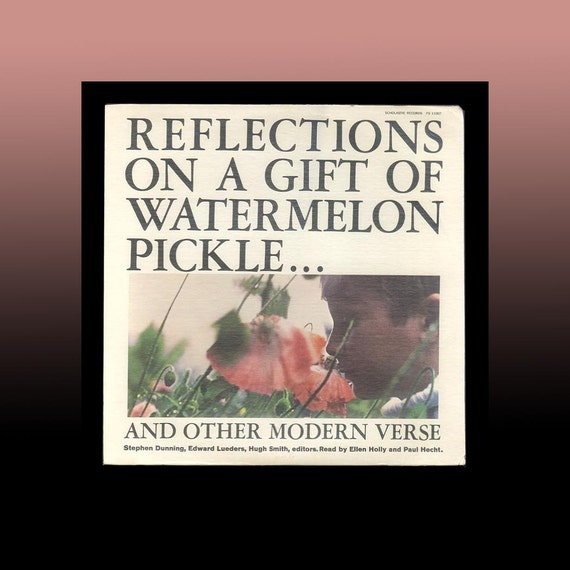 Reflections On A Gift Of Watermelon Pickle Read By Ellen Holly Etsy