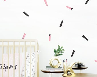 Wall Stickers Wall Decal Baby Removable Stickers Kids Wall Stickers Baby Nursery Decor Streamer Baby Decor Baby. Streamers Wall Decal