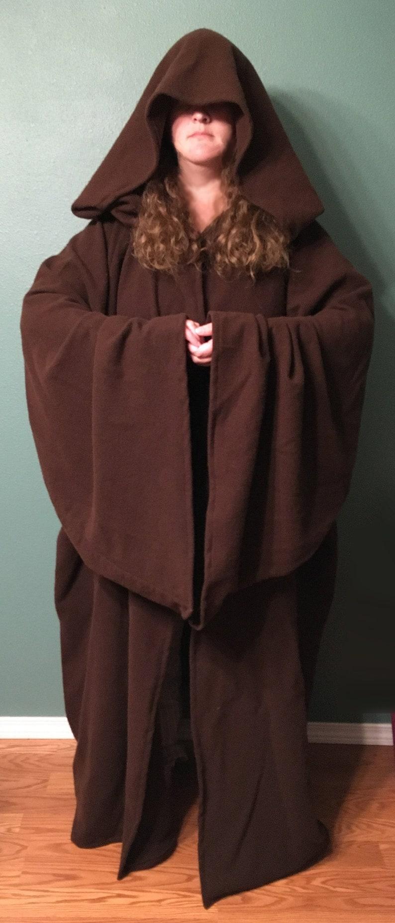 f485dd1e74 Wool star wars or medieval monk robe large hood etsy jpg 794x1852 Medieval monk  hood
