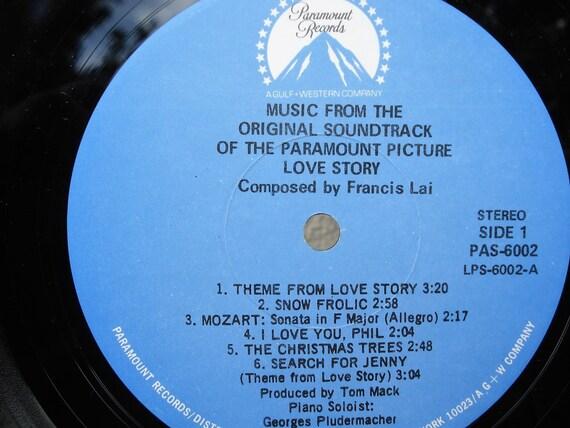 Love Story Vinyl Record 1970, Sound Track, Movie Record, Movie Music,LP,  Ryan O'Neil, Ali Macaw, Soundtrack, Love Story Vinyl, Love Story LP