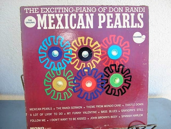 Mexican pearls jazz music piano music don randi etsy