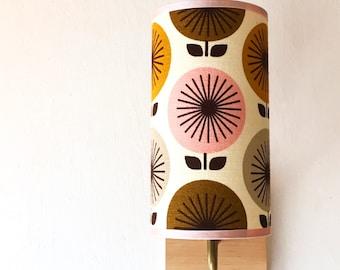 Wall Sconce Lamp - pink sunburst